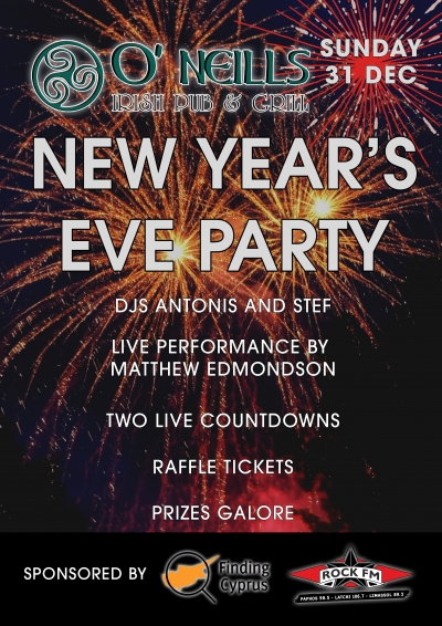 O'Neills New Years Eve Party
